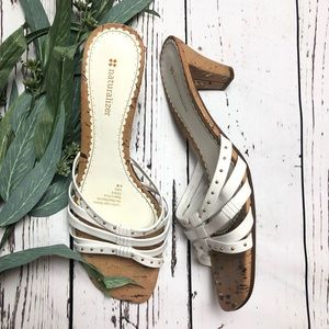 Naturalizer Sandals Sara Leather Gold